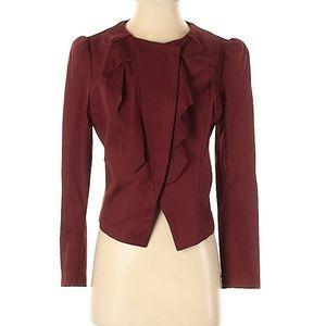 INC Petite Ruffled Jacket